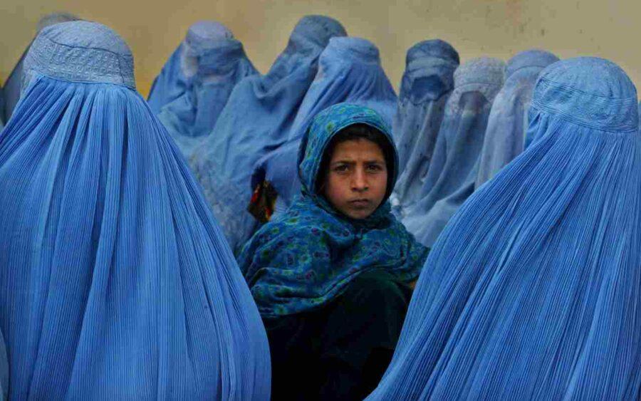 donne afgane